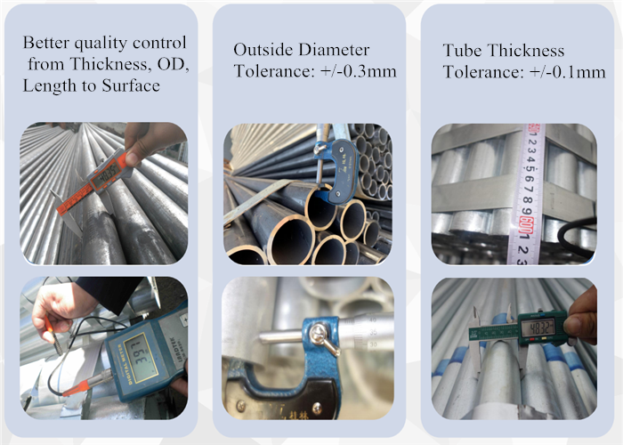 Brands Threaded Galvanized Steel Pipes
