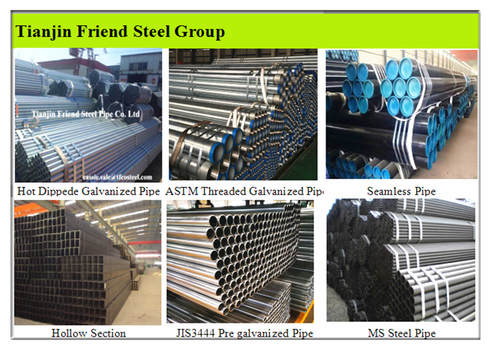 Supply BS1387 Steel Pipe