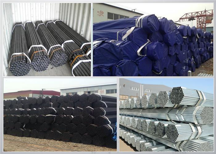 Custom Threaded Steel Tubes