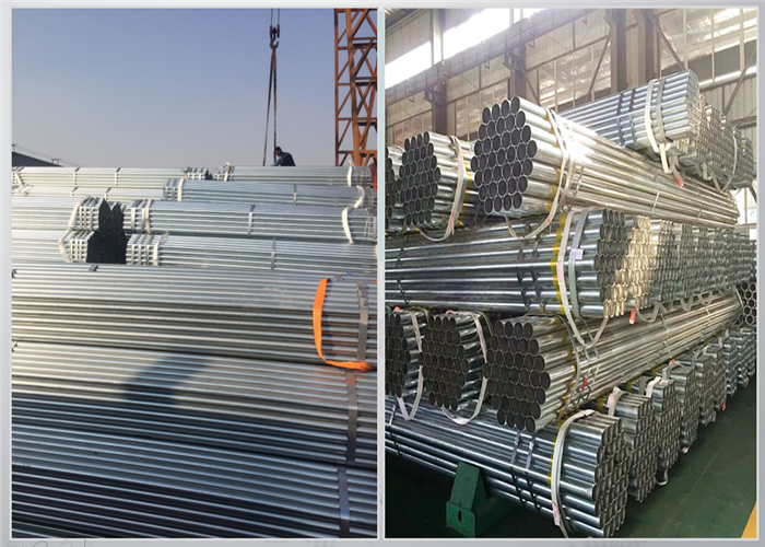 Mild Steel Pipes for Construction Factory