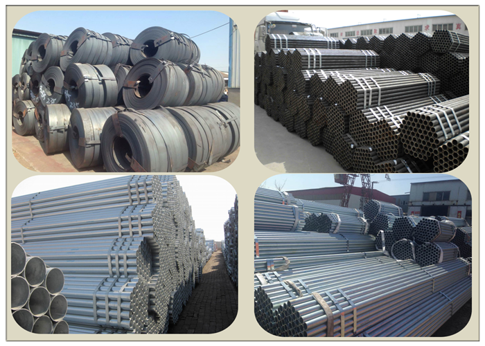 China Mild Steel Pipes for Construction