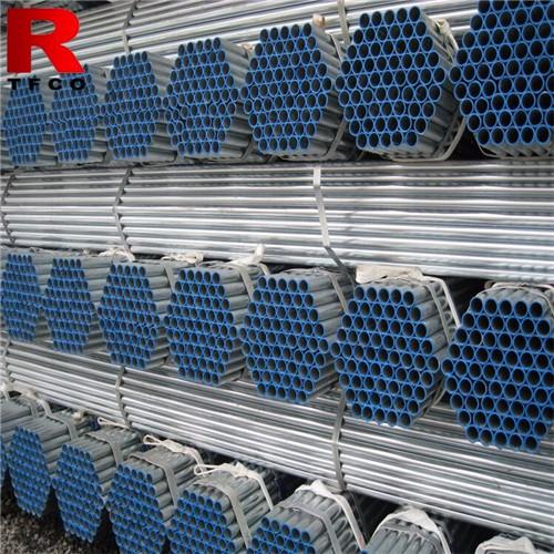 Threading Galvanized Steel Pipes