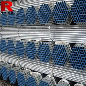 Threading Galvanized Steel Pipes