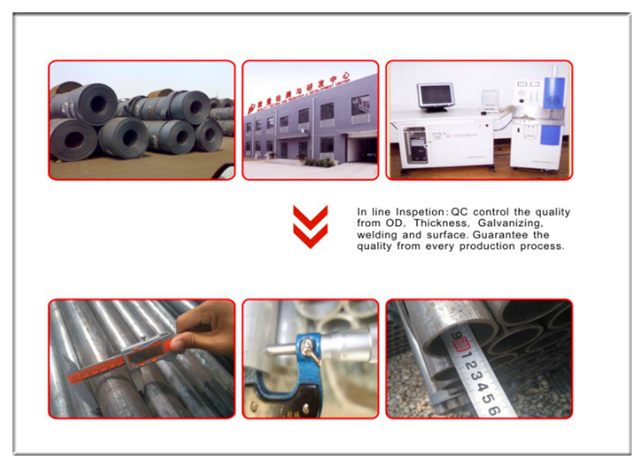China Galvanzied Water Steel Pipe