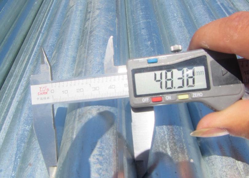 Scaffolding Steel Planks used by Vietnam customer