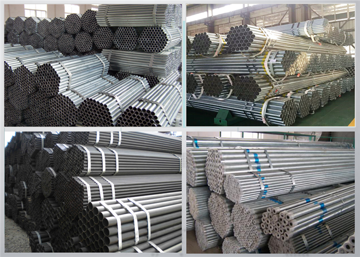 BS1387 galvanized pipes