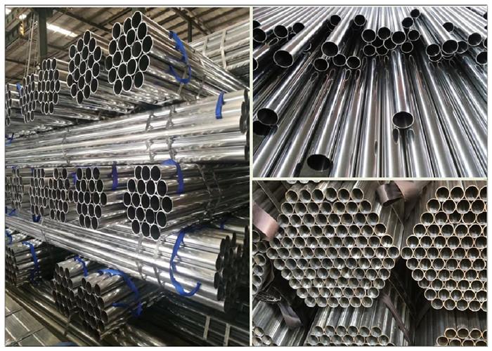 galvanized scaffold