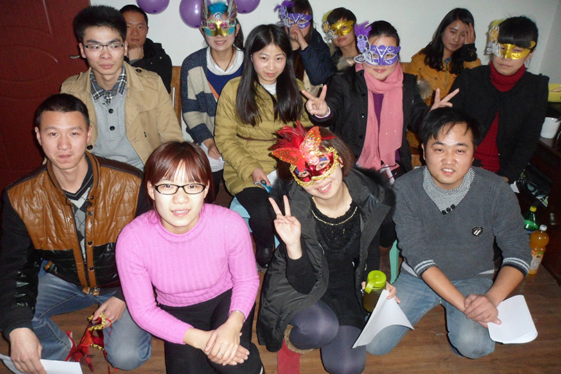 2014 Year's Masquerade Christmas Activity