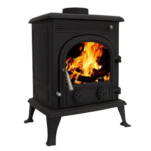 Rear Flue Woodfire Sawdust Burning Stoves