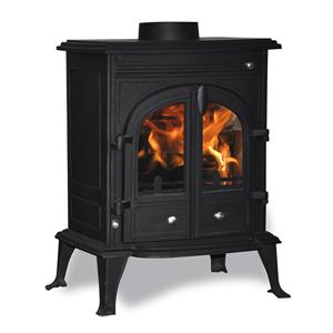 Cast Iron Convection Woodburners Wood Stove Double Doors