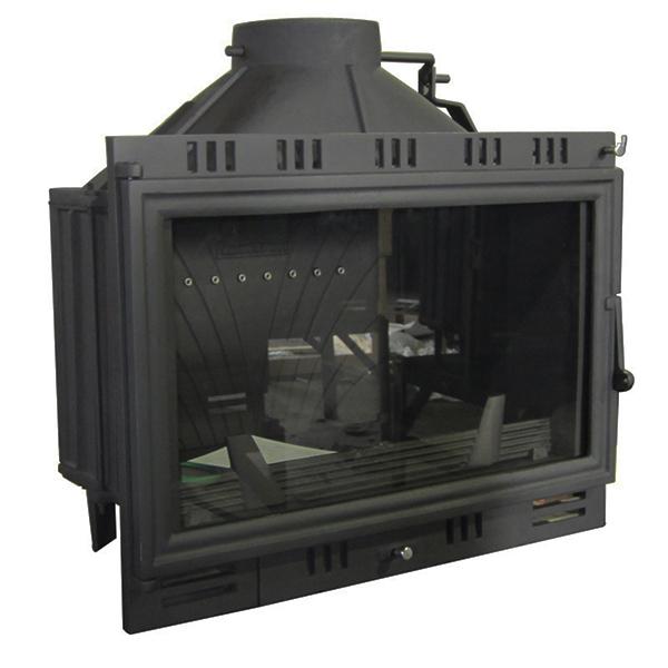 Modern Cast Iron Fireplace Insert