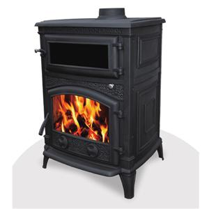 Gas Stove With Induction Wood Fired Oven Cooker