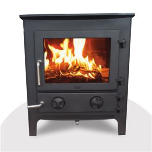 Modern Wood Burning Steel Burner Stoves
