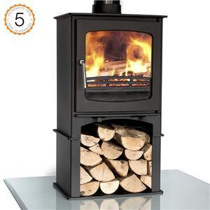 Steel Wood Stove Gas Burner
