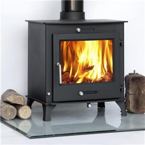 Steel Woodburning Multi Fuel Log Burning Stove