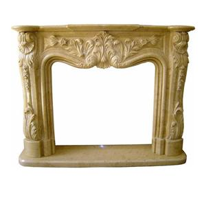 Wood Fireplace Marble Inserts