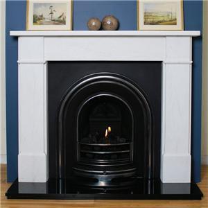 Zero Clearance Stacked Stone Wood Burning Fireplace Surround Mantels