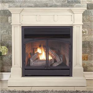 Contemporary Indoor Gas Wall Corner Fireplace Insert