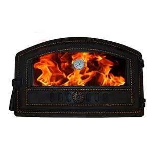 Fireplace Baker Doors With Glass And Thermometer