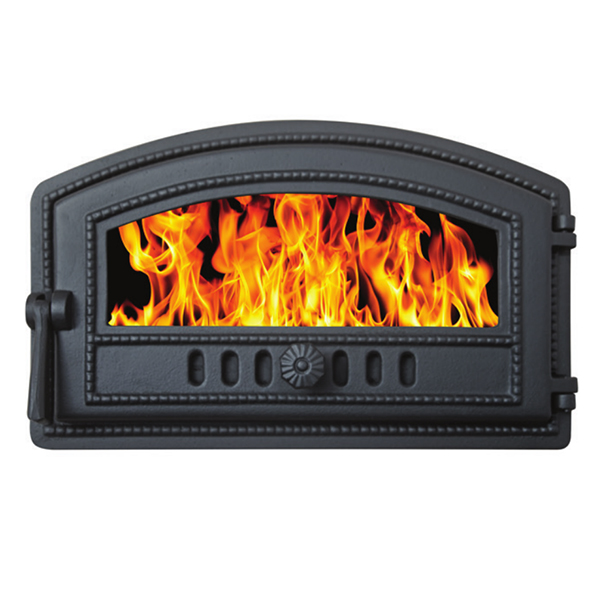Fireplace Accessories Bake Oven Door With Glass