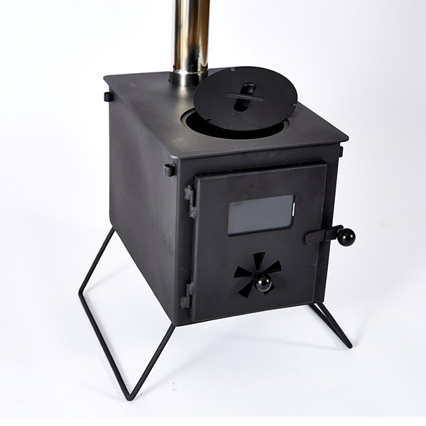 Wall Tent Stove Double Burner Cool Camping Gear Wood Tent Stove