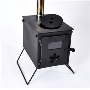 Portable Tent Wood Stove With Cool Camping Gear
