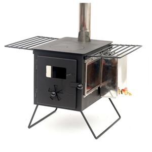 Outdoor Camping Stove With Wood Boiler