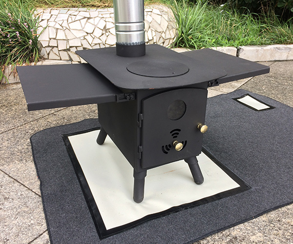 Cooktop Tent Stove With Portable Camping Heater Grill
