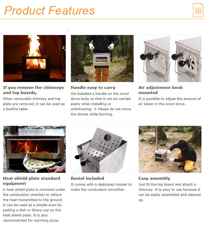 Stainless Steel Stoves