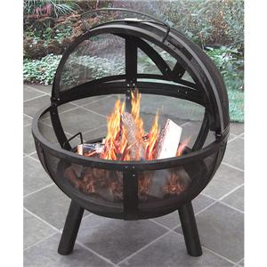 Wood Burning Outdoor Stove Round Fire Pit