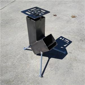 Rocket Stove Wood Burning Heater