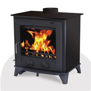 European Hobbit Wood Steel Heater Stove