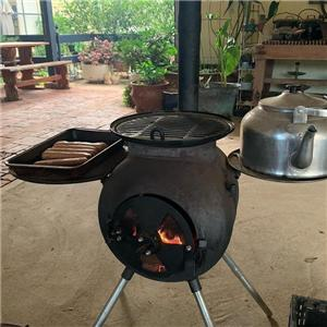 Small Wood Burning Tent Stove