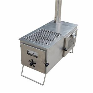 Stainless Steel Oven Tent Heater Camping Trip Ge Stove