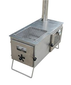 Oven Tent Heater With Stainless Steel BBQ Grill