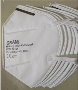 Wholesale Price CE FDA certificate Anti dust cotton FFP2 N95 mask in stock