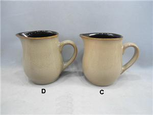 Reactive Ceramic Beer Milk Jug