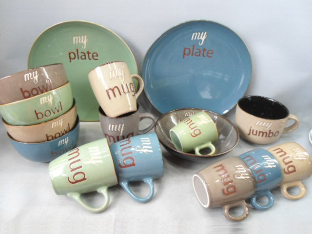 Ceramic Kids Dinner Set