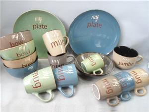 Ceramic Kids Dinner Set