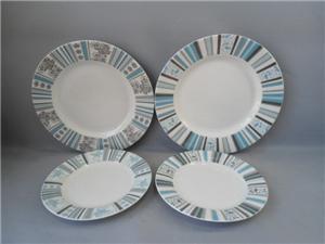 Farklı tasarım Seramik Gıda Plate için farklı Boyutu