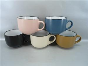 Ceramic Coffee Cup in Different color and Design