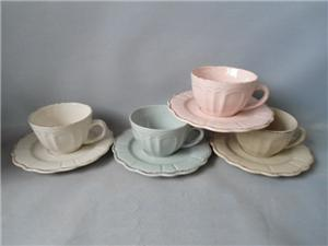 Ceramic Coffee Cup And Saucer Set in different Design