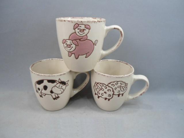 Ceramic Milk Cup in different design