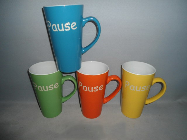 Hotsale Promotional Ceramic Cup in diffent size