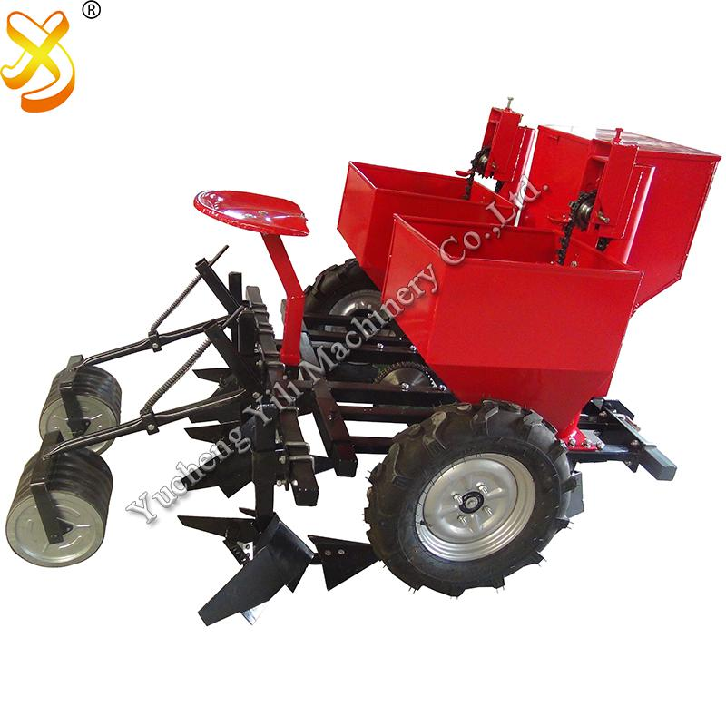 TWO Row Potato Planter Ginger Planter For Tractor