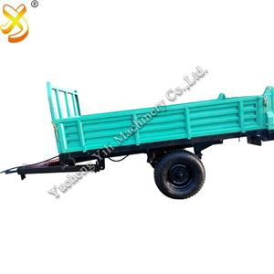Hydraulic Air Brake Farm Tractor Trailers For Best Price