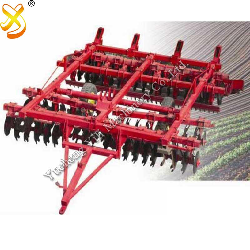 4wd Large Tractor Trailed Combined Soil Preparation Machine
