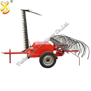 High Efficiency New Designed Tractor Mower With Rake