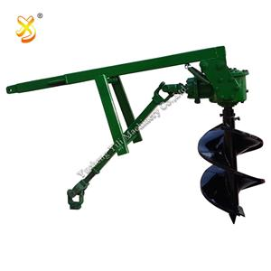 Agricultural 3 Point Linkage Tractor Post Hole Digger