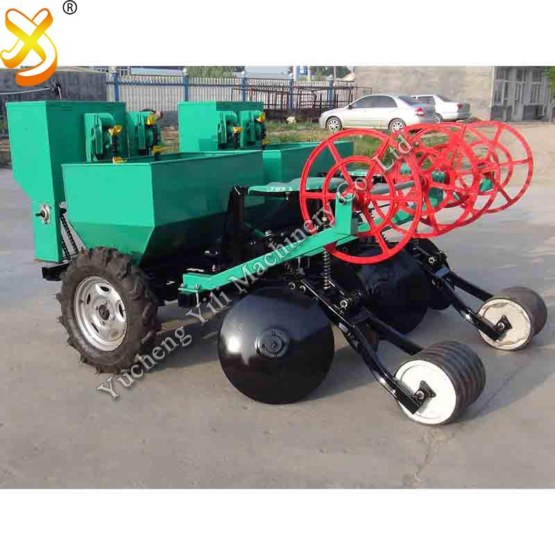 2 row potato planter machine